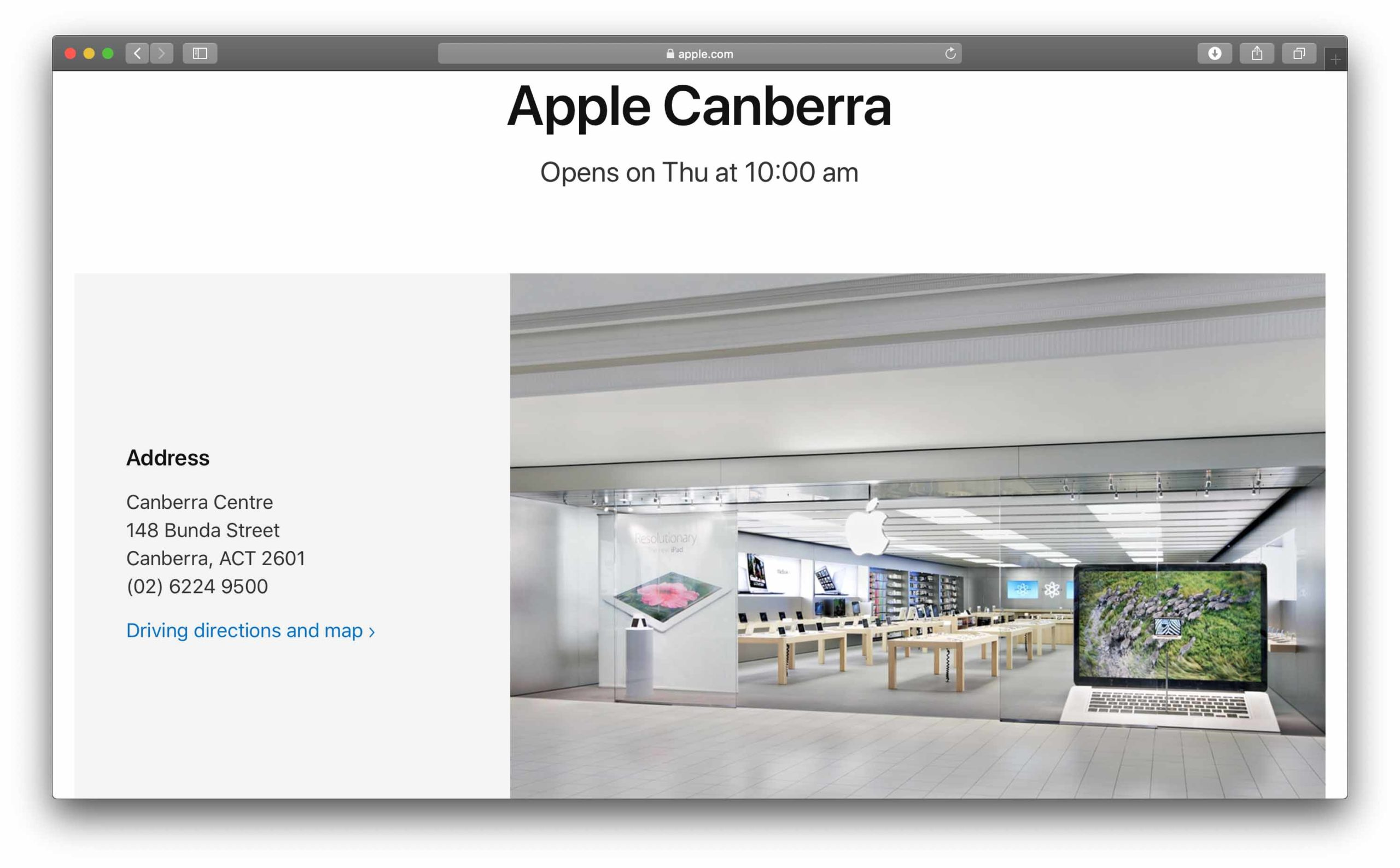 In Australia riapriranno 21 Apple Store