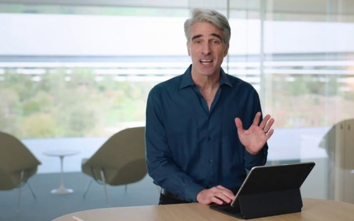 Craig Federighi: l'esperienza del cursore iPad è ispirata ad Apple TV