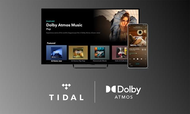 Tidal ora trasmette in Dolby Atmos a soundbar e TV compatibili, anche su Apple TV 4K