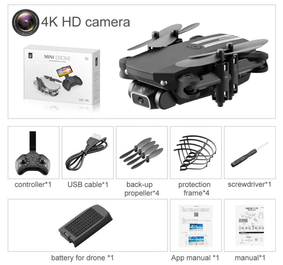 Divertimento in volo con il mini drone, anche con filmati in 4K: si parte da soli 21 euro