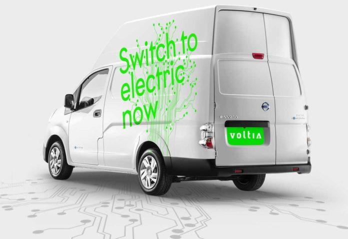 Nissan amplia la gamma elettrica in Europa con e-NV200 XL Voltia