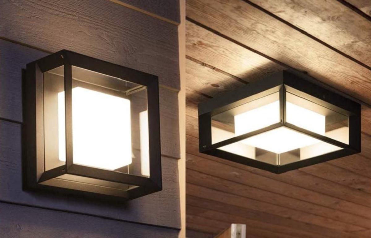 Philips Hue per esterni, la nuova gamma di lampade Smart