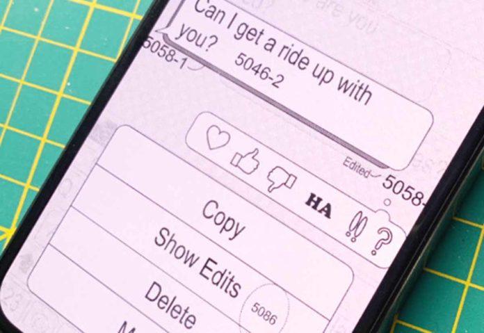 Apple pensa alla modifica del testo e alle app in Messaggi
