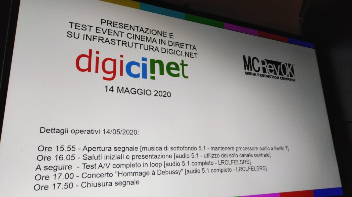 Il sistema italiano alternativo al satellite per i contenuti in diretta nei cinema