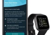 Fitbit, sfida ad Apple Watch: parte lo studio sul rilevamento dei battiti irregolari