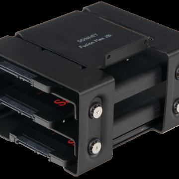 Sonnet Fusion Flex J3i permette di installare HDD e unità SSD da 3,5″ e 2,5″ nel Mac Pro 2019