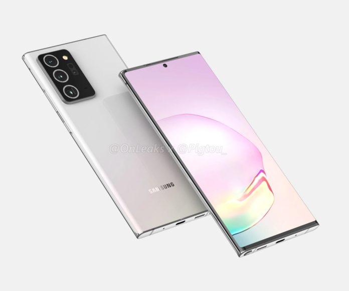 Samsung Galaxy Note 20 sarà un S20 Ultra gigante