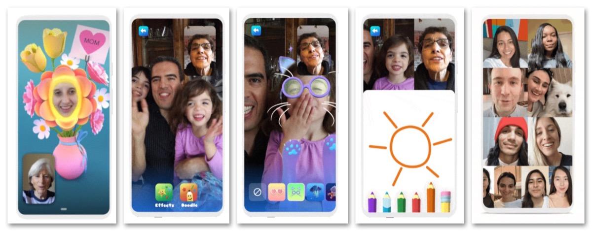 Google Duo ora con modalità famiglia per scarabocchiare e giocare con l'AR