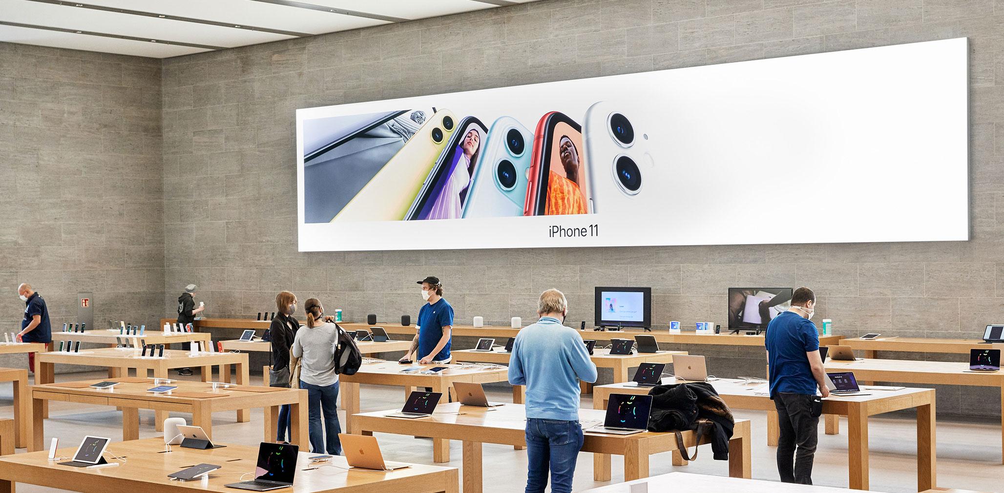 Le misure adottate da Apple per la riapertura degli Apple Store