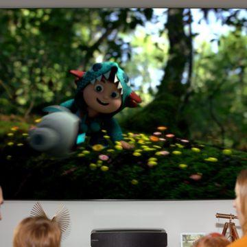 Hisense Laser TV 100L5F porta il cinema in casa