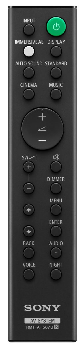 Sony presenta le nuove soundbar HT-G700 e HT-S20R
