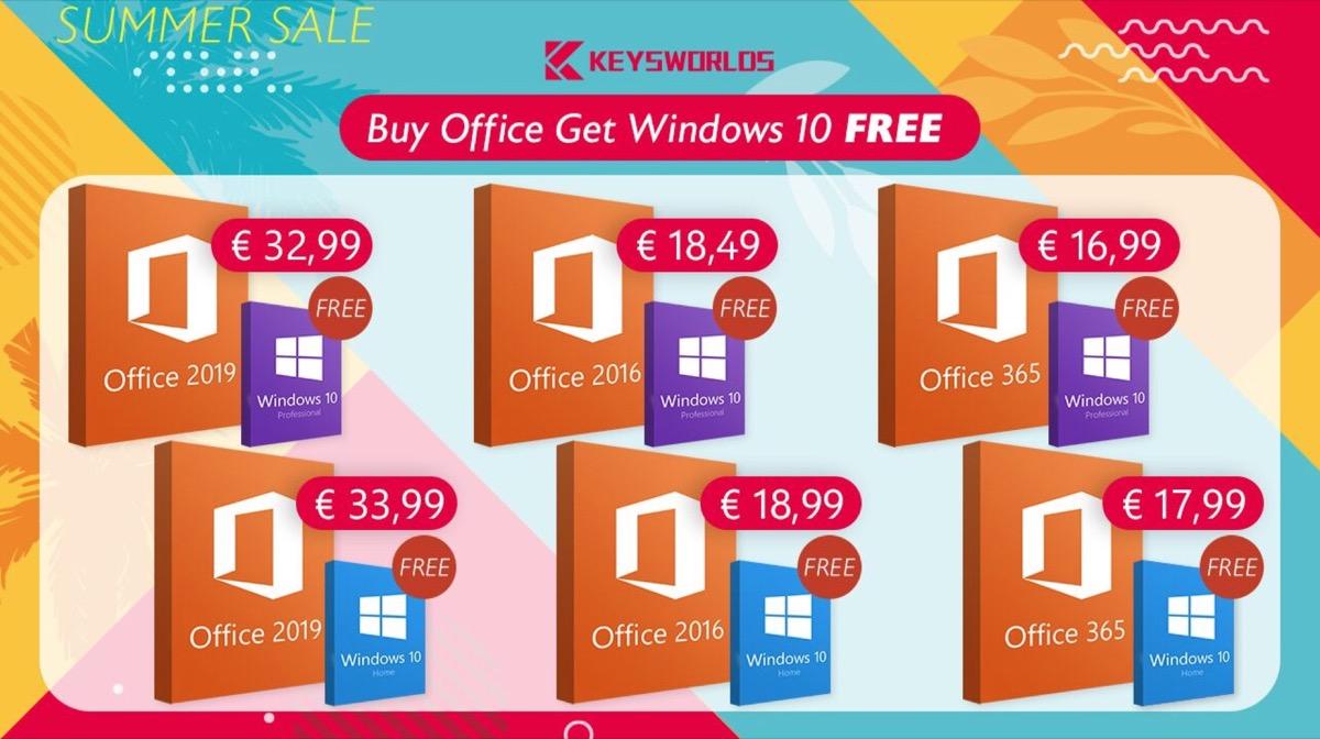 Promozione dell'estate: Windows 10 completamente gratis