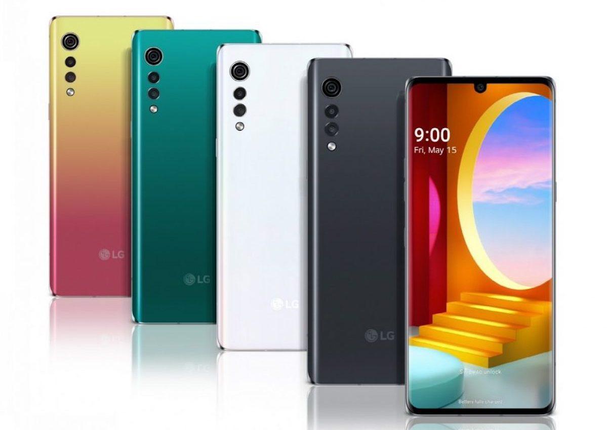 LG Velvet si mostra nelle immagini ufficiali