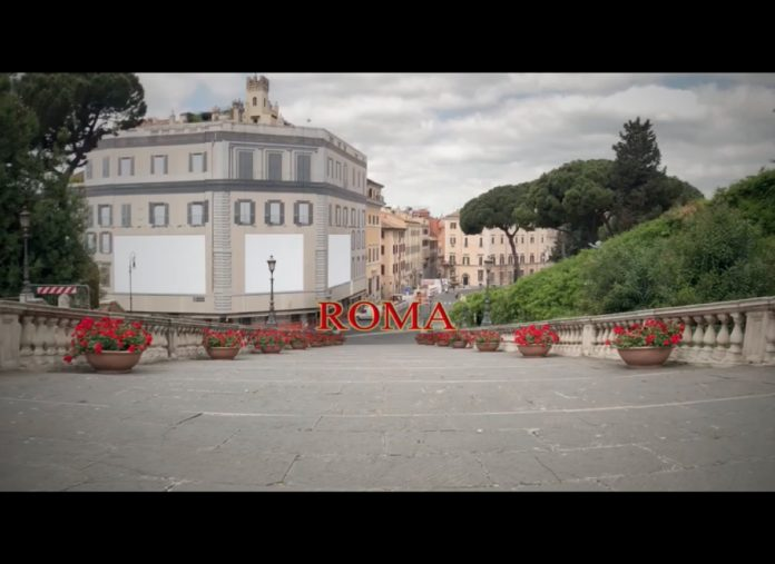 Lockdown Roma 2020: la magia della capitale deserta nelle immagini cinematografiche girate con iPhone