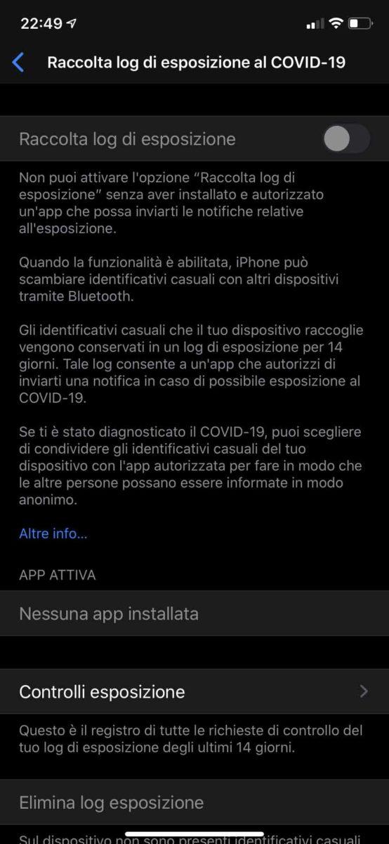 App per il tracciamento di coronavirus: Apple e Google rilasciano le API per Immuni