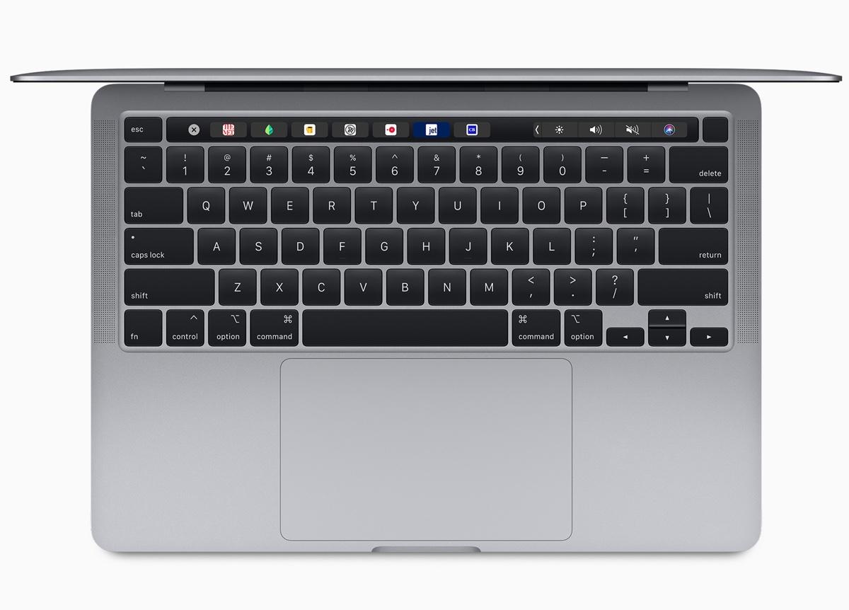 MacBook Pro 13 2020 con nuova tastiera e più spazio di archiviazione