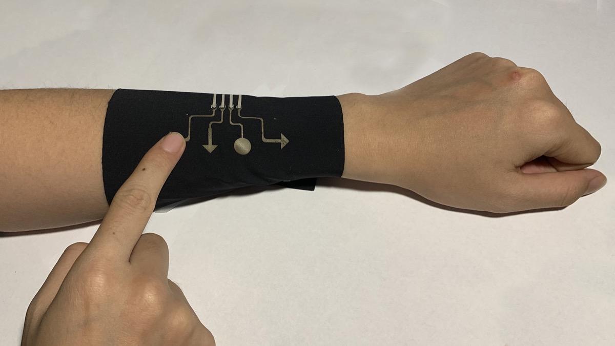 Indosseremo la tecnologia come una seconda pelle: inventata la manica Smart