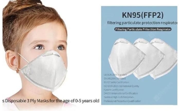 Mascherine equivalenti FFP2 (anche per bambini) in offerta con e senza valvola e filtri di ricambio