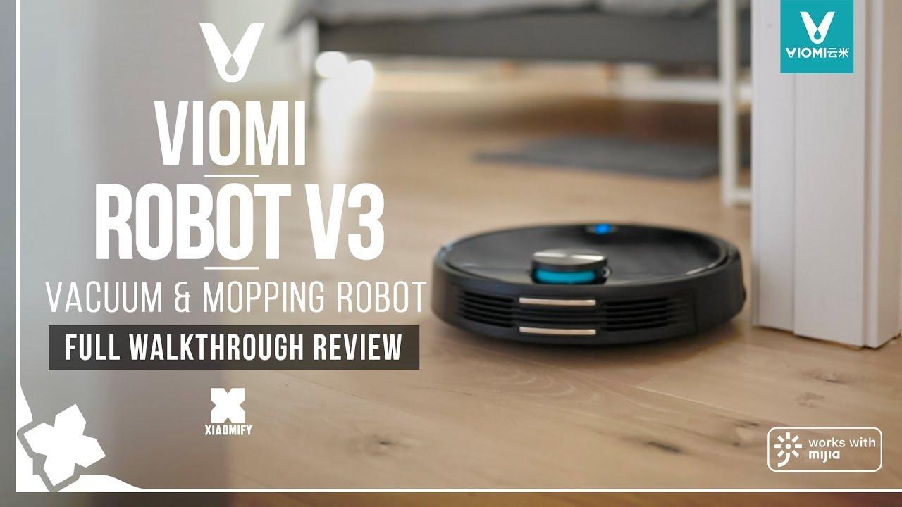 VIOMI V3, in pre ordine con sconto di quasi 100 euro l'aspirapolvere robot con sistema di navigazione laser