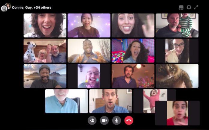 Messenger Rooms, le videochiamate di gruppo marchiate Facebook sono arrivate