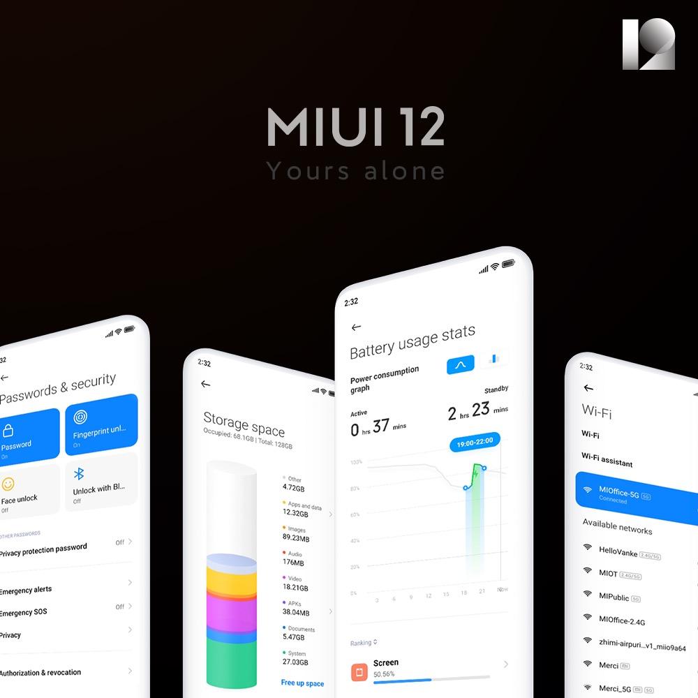 Xiaomi annuncia la MIUI 12, il sistema operativo realistico