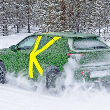 Il nuovo Opel Mokka in fase di collaudo su strada