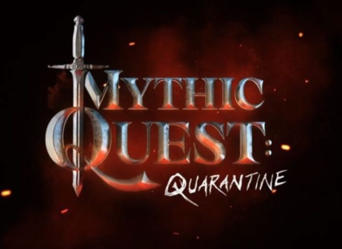 Una puntata dalla quarantena per il cast di Mythic Quest di Apple TV+