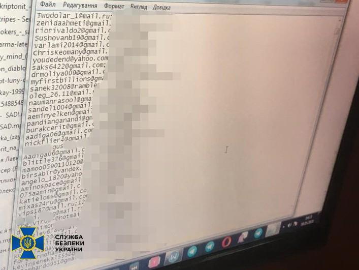 Arrestato hacker ucraino che vendeva centinaia di milioni di credenziali rubate