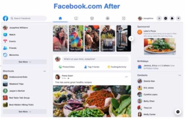 Arriva il nuovo Facebook con nuova grafica, foto e video a tutto schermo
