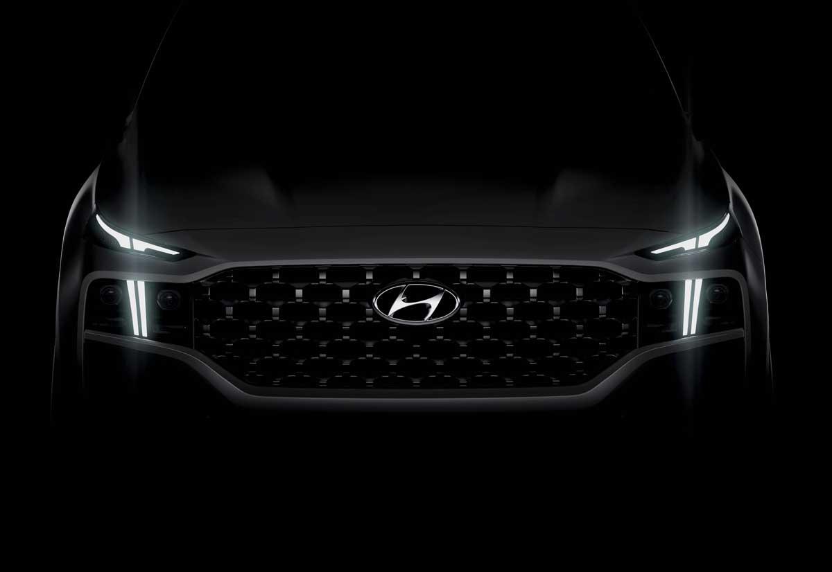 Hyundai, primi dettagli di nuova Santa Fe