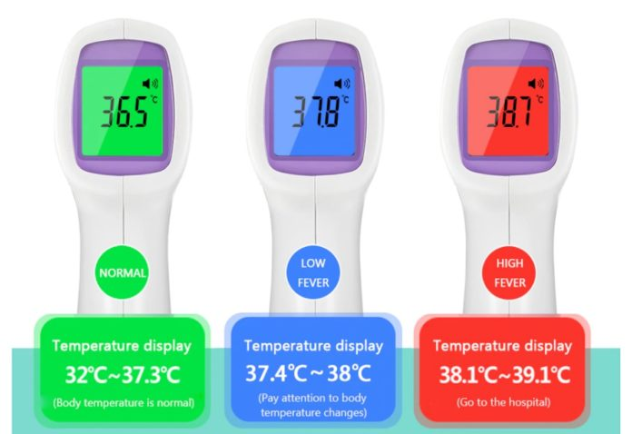 Termometro a pistola contactless, tanti modelli in offerta a partire da 24 euro