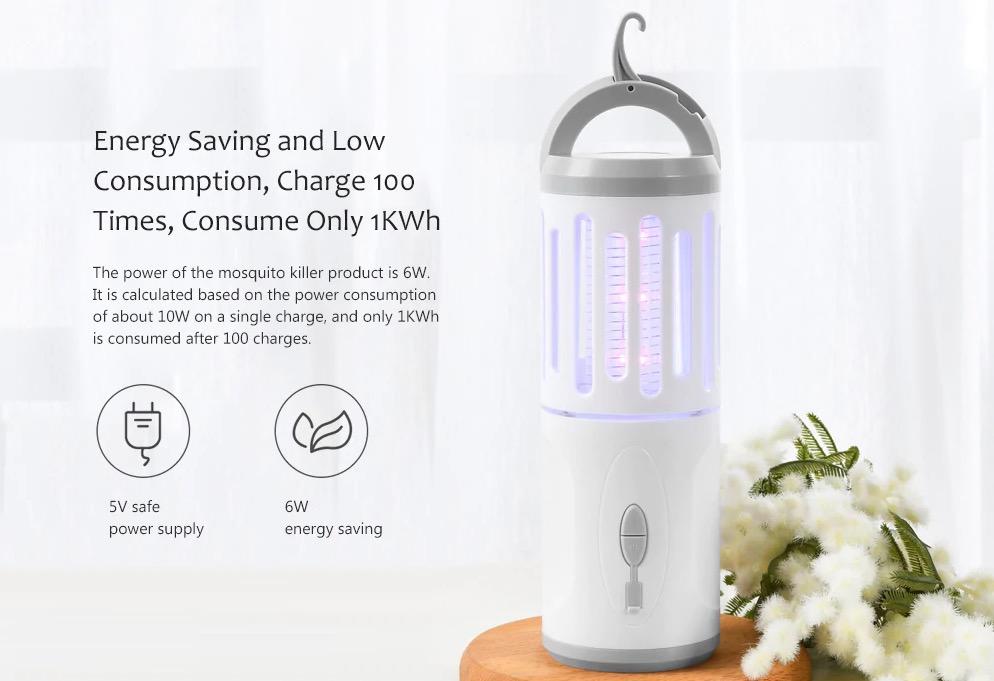 Da Xiaomi la lampada anti zanzara con luce notturna a 42,86 euro con codice sconto