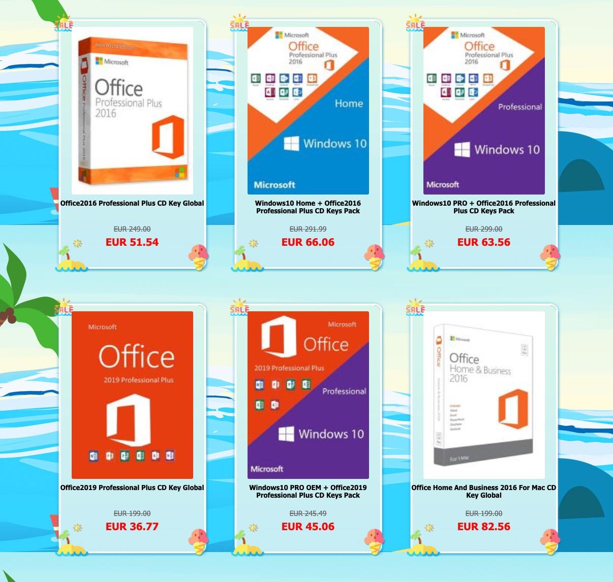 Codici sconto per Windows 10 e Office 2019, chiavi per il download a partire da 13,66 euro