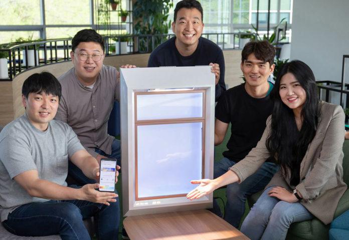 SunnyFive è una finestra di Samsung con aspetto estetico e benefici della luce naturale