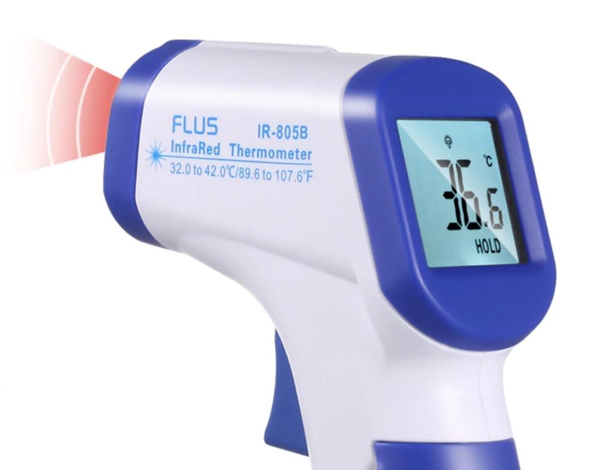 Termometro a infrarossi, senza contatto, in sconto a partire da 21,59 euro