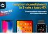 Tasso Zero: i migliori ricondizionati in 5 rate a tasso 0%. Offerta fino al 31/5 su TrenDevice