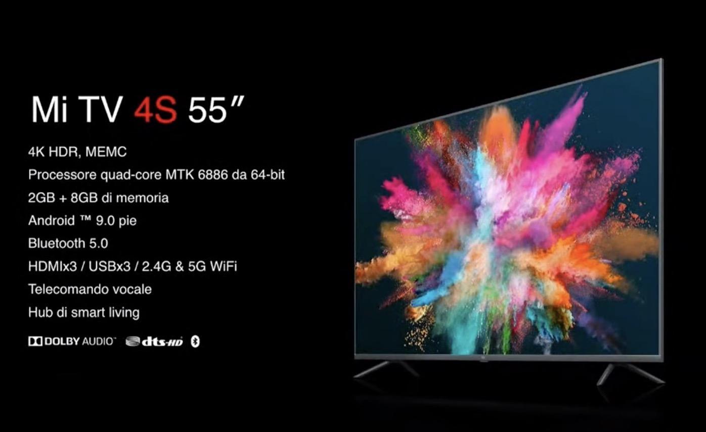 """Super offerta TV XIAOMI 55"""" e 43"""" su Amazon solo per il 27 Maggio"""