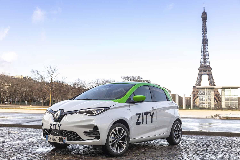 ZITY, a Parigi il car sharing elettrico con una flotta di 500 Renault ZOE