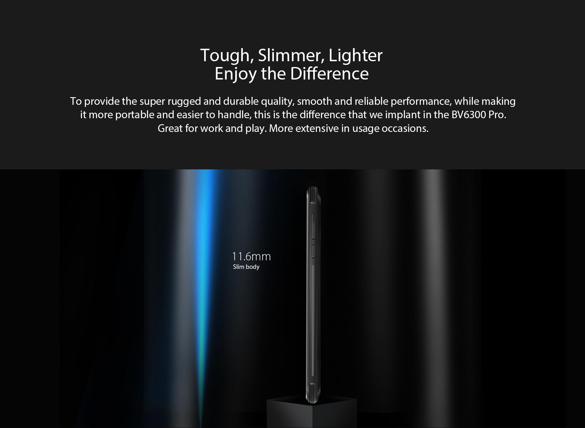Blackview BV6300 Pro, il rugged in formato slim in offerta speciale a 199 dollari