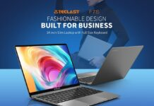 Teclast F7S, il notebook ultra snello da 14,1 pollici con CPU Intel e 8GB RAM in offerta lampo a 284,59