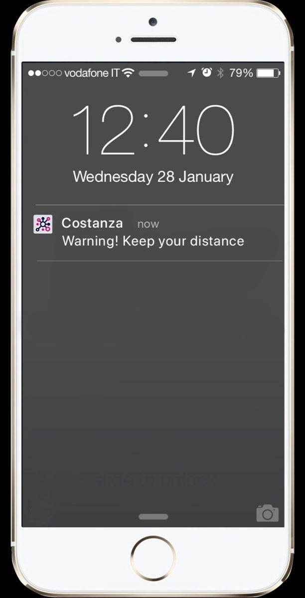 Costanza… è l'app per la distanza