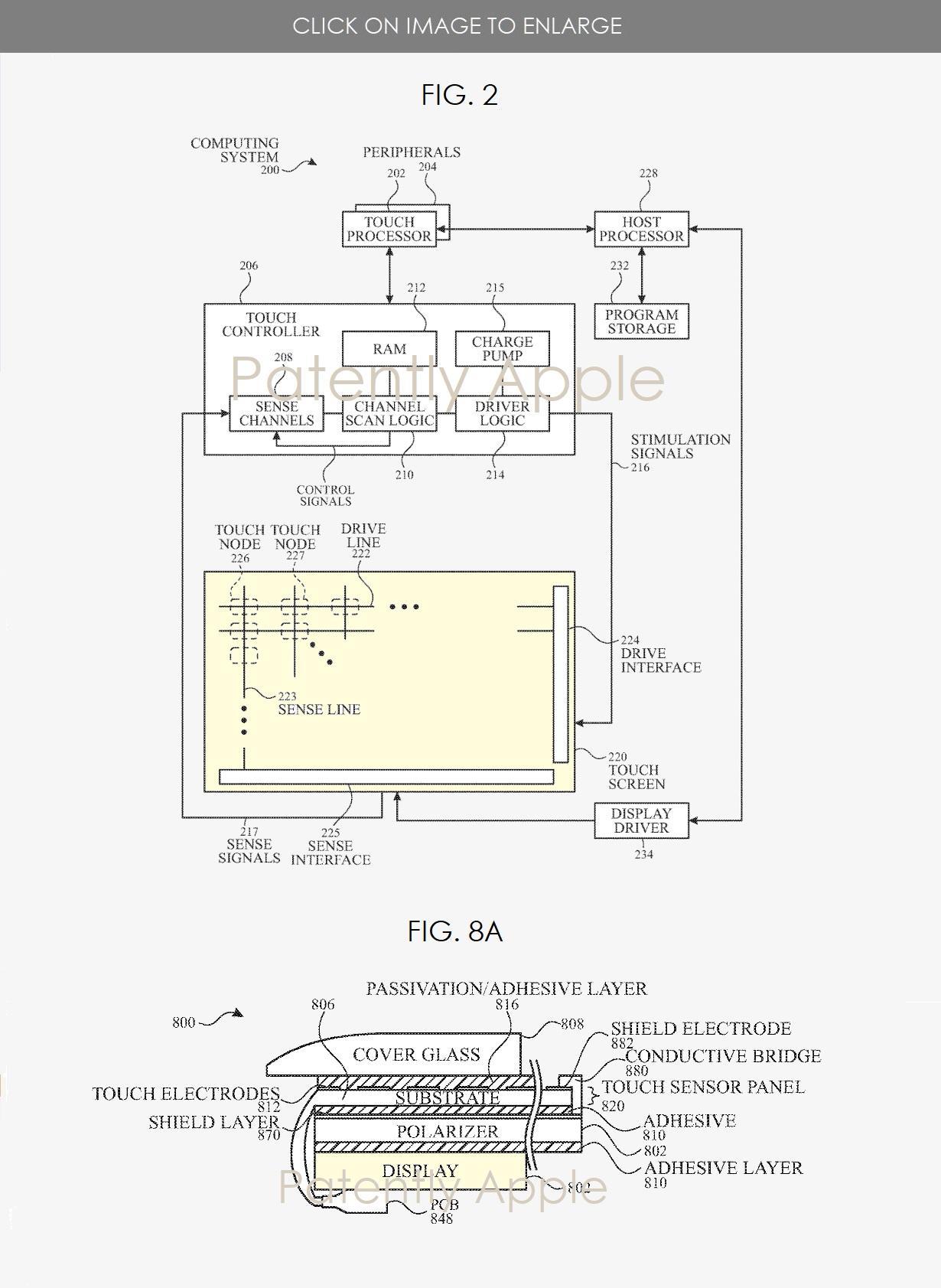 Apple ha ideato un sensore touch ultra-sottile che permetterà di migliorare anche i display