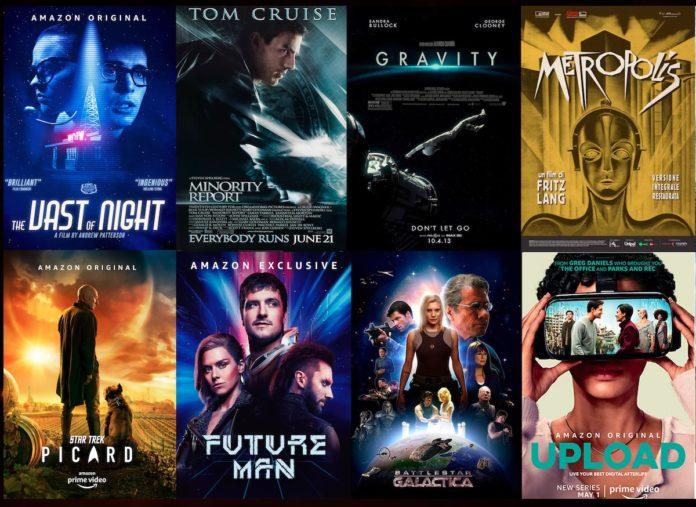 La fantascienza protagonista su Amazon Prime Video