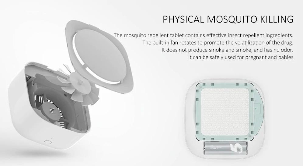 Xiaomi Mijia dispositivo repellente anti-zanzare smart in sconto a soli 18 euro con ricambi