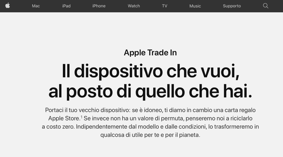 Apple attiva la permuta dei Mac usati negli Apple Store