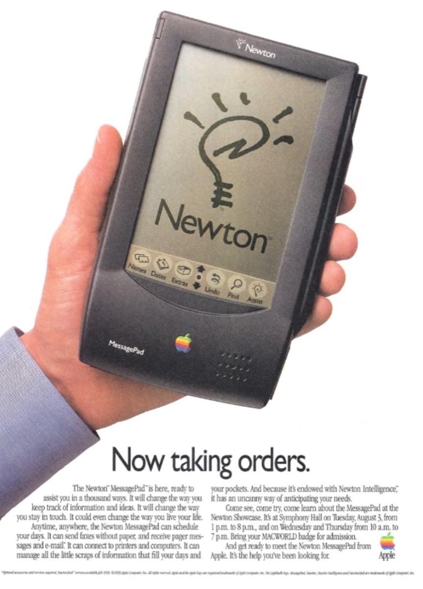 Come fu che Apple si reiventò il Newton