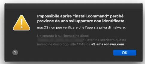 Un malware per Mac tenta una nuova tattica per bypassare la sicurezza di macOS Catalina