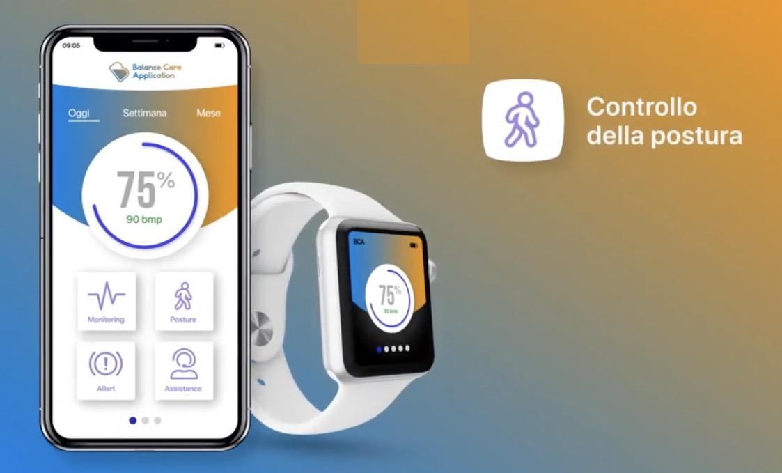 Balance Care Application, un progetto di aiuto per le persone anziane usando smartphone o smartwatch