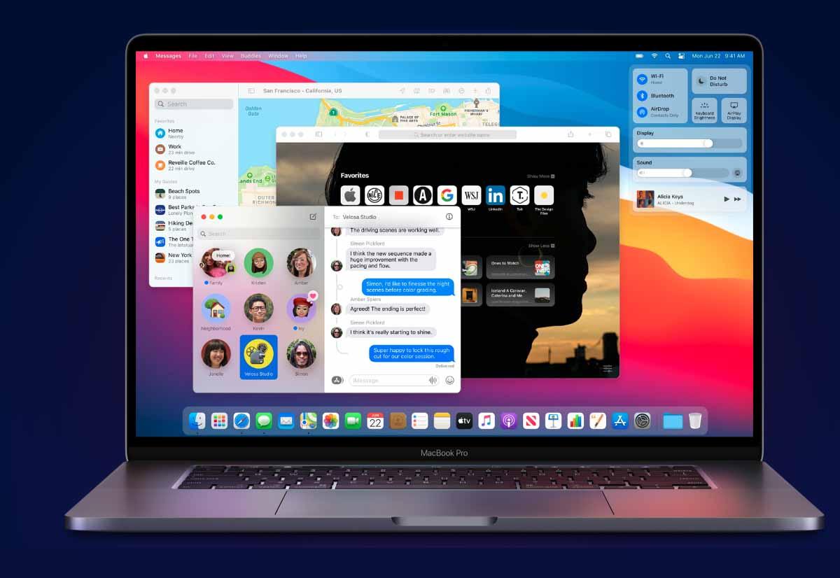 Con macOS Big Sur dettagli sull'utilizzo della batteria come su iPhone