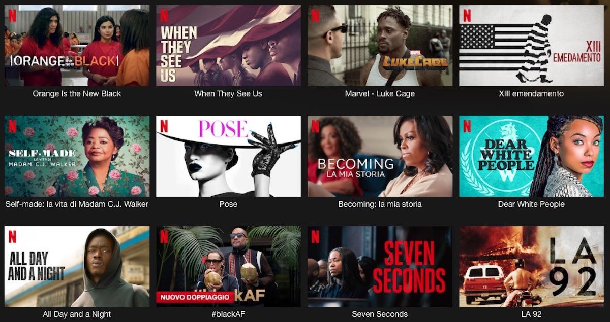 """Netflix propone la raccolta """"Black Lives Matter"""", storie di discriminazioni razziali"""